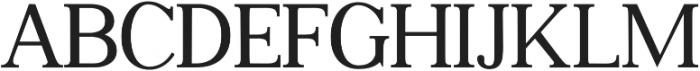 Gatsby Modern otf (400) Font UPPERCASE