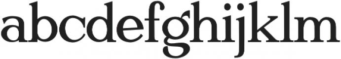 Gatsby Modern otf (400) Font LOWERCASE