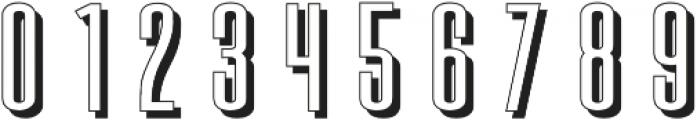 Gatsby Retro otf (400) Font OTHER CHARS
