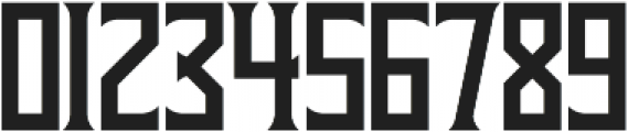 Gauntlet Regular otf (400) Font OTHER CHARS