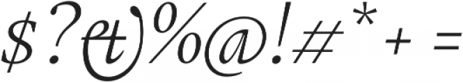 Gauthier FY otf (400) Font OTHER CHARS
