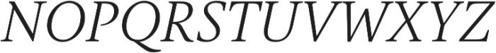 Gauthier FY otf (400) Font UPPERCASE