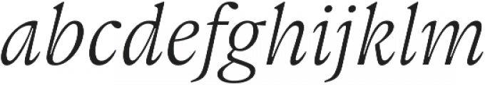Gauthier FY otf (400) Font LOWERCASE
