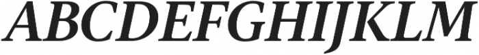 Gauthier FY otf (700) Font UPPERCASE