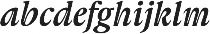 Gauthier FY otf (700) Font LOWERCASE