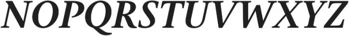Gauthier Next FY otf (700) Font UPPERCASE