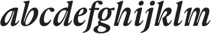 Gauthier Next FY otf (700) Font LOWERCASE