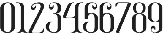 Gayatri otf (400) Font OTHER CHARS