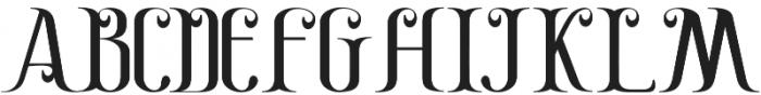 Gayatri otf (400) Font UPPERCASE