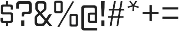 Gaz Book otf (400) Font OTHER CHARS