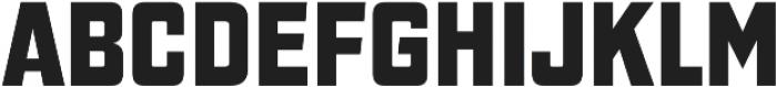 Gaz Heavy otf (800) Font UPPERCASE