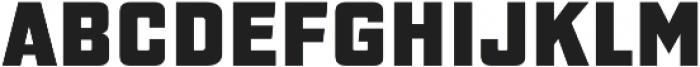 Gaz Heavy otf (800) Font LOWERCASE