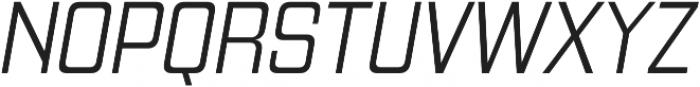 Gaz Light Italic otf (300) Font UPPERCASE