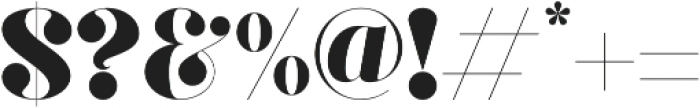 Gaze Pro otf (400) Font OTHER CHARS