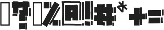 Gazoline ttf (400) Font OTHER CHARS