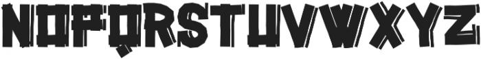 Gazoline ttf (400) Font UPPERCASE