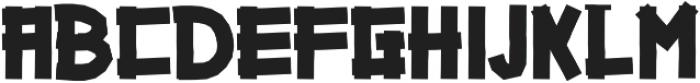 Gazoline ttf (400) Font LOWERCASE