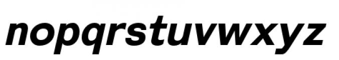 Galderglynn Esq Bold Italic Font LOWERCASE