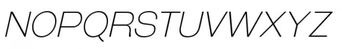 Galderglynn Esq Extra Light Italic Font UPPERCASE