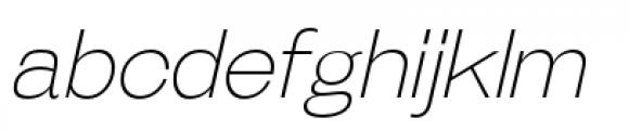 Galderglynn Esq Extra Light Italic Font LOWERCASE