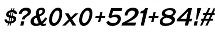 Galderglynn Esq Regular Italic Font OTHER CHARS