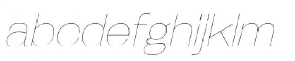 Galderglynn Esq Ultra Light Italic Font LOWERCASE