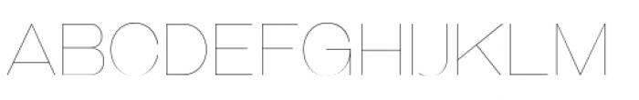 Galderglynn Esq Ultra Light Font UPPERCASE