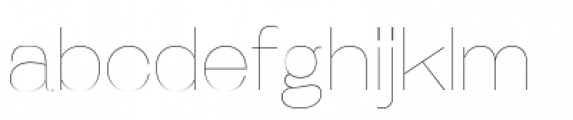 Galderglynn Esq Ultra Light Font LOWERCASE