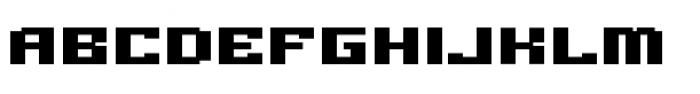 Gargantua BTN Regular Font UPPERCASE