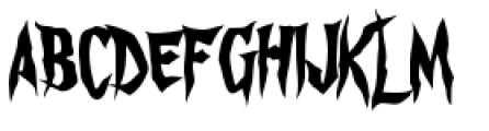 Gatekeeper Font UPPERCASE