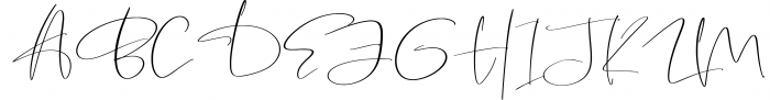 Garnet Night Font Duo 1 Font UPPERCASE