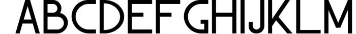 Garnet Night Font Duo Font UPPERCASE
