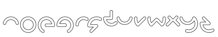GABRIELLE-Hollow Font LOWERCASE