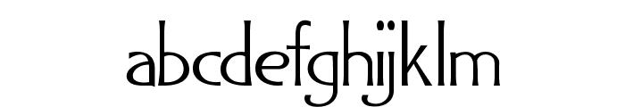 GADAQUALI Font LOWERCASE