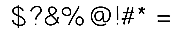 GAEL427 Font OTHER CHARS