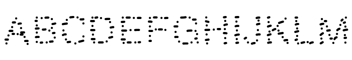 GAELLEnumber9 Font UPPERCASE