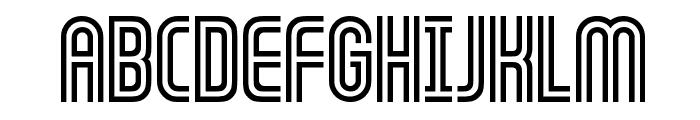 GALLEDIS Font UPPERCASE