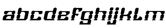 GAMER Bold Italic Font LOWERCASE