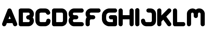 GANGSTERS Font UPPERCASE