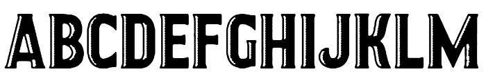 GARAGE IMPERIO Font LOWERCASE