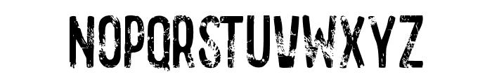 GASOLINE scratchy Font UPPERCASE