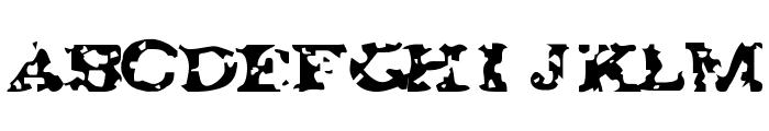 GAZA 67 Font UPPERCASE