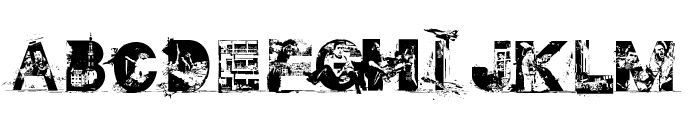 GAZA FONT Font LOWERCASE