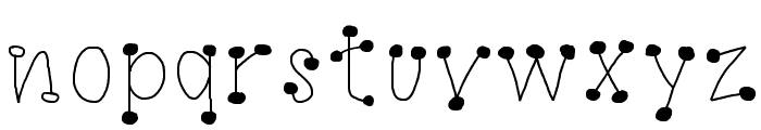 GaGoo Font LOWERCASE