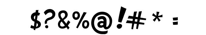 Gabbaland Font OTHER CHARS