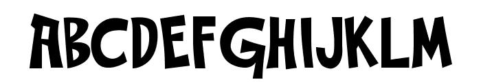 Gabbaland Font UPPERCASE