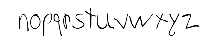Gabby Font LOWERCASE