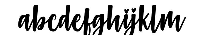 Gabelisa Font LOWERCASE