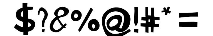 Gabi Sans Irregular Font OTHER CHARS