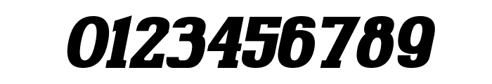 Gabriel Serif Bold Italic Font OTHER CHARS